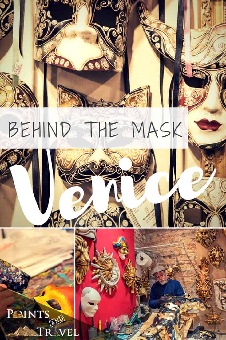 The collector of Masks makes her way to Venice - Behind the Mask is what she finds!