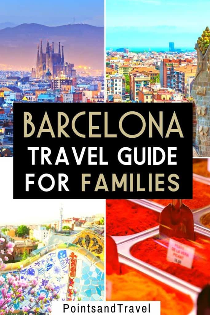 A family trip to Barcelona, Spain, Barcelona travel guide for families, #barcelona #spain #europe