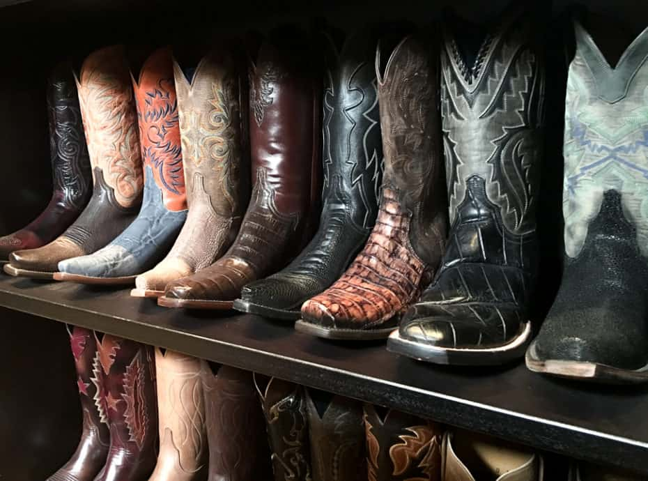 Come find out why these boots were made for walking... Texas cowboy boots no less from the Lucchese Bootmaker in El Paso, Texas.