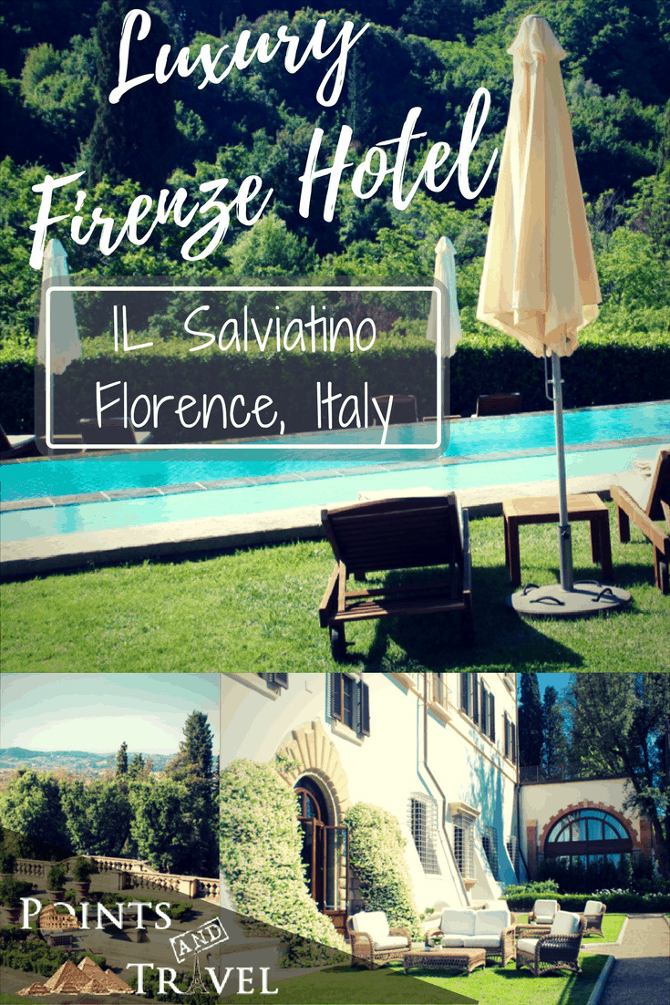 Hotel Firenze il Salviatino in Florence, Italy Firenze
