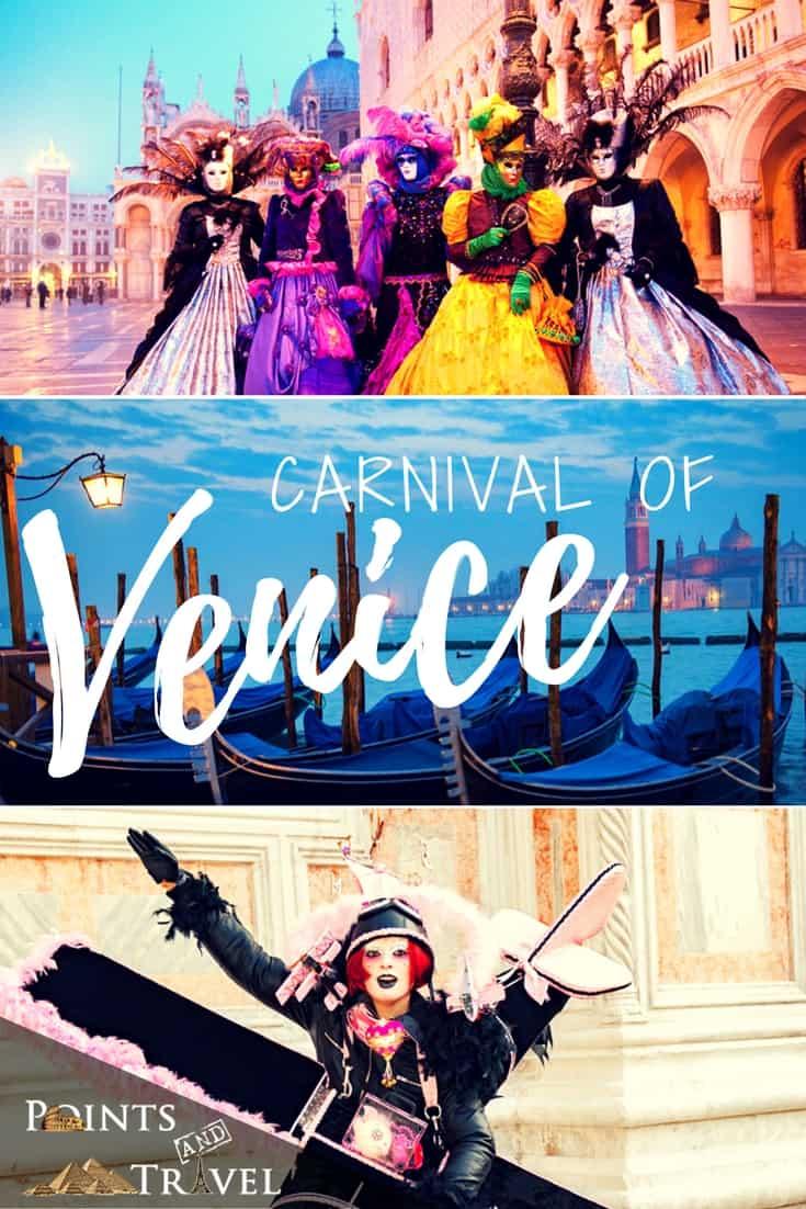 Venice Carnival collage
