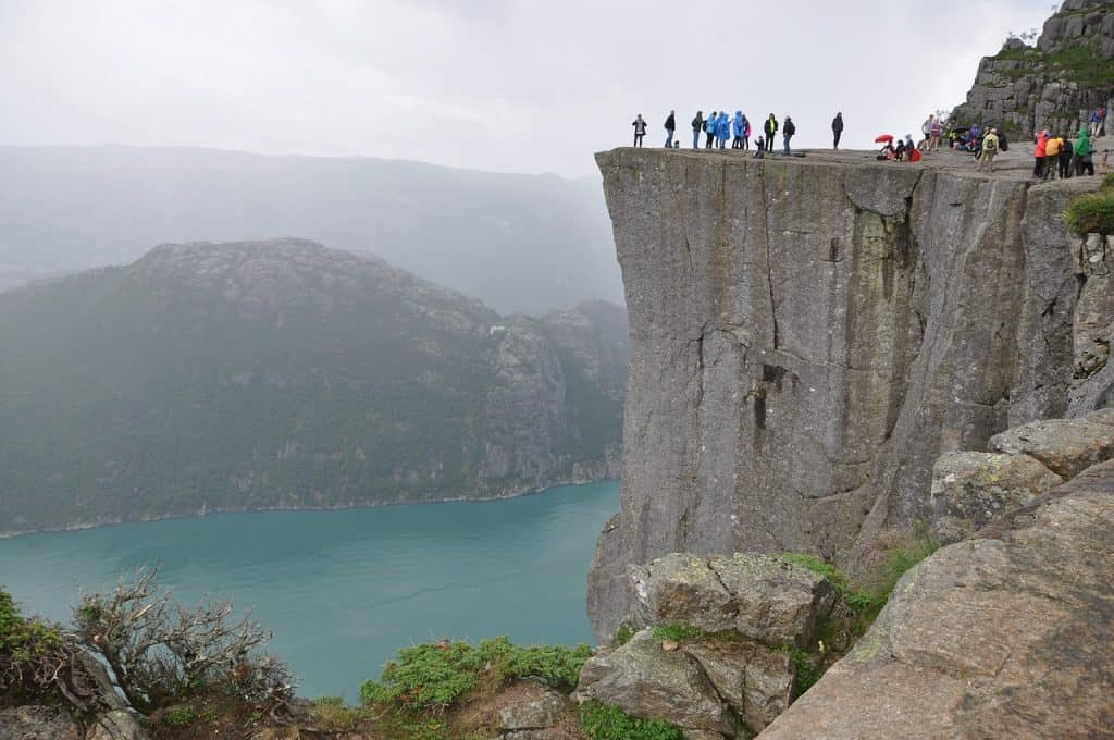 Preikestolen hike, Pulpit Rock, Preikestolen weather