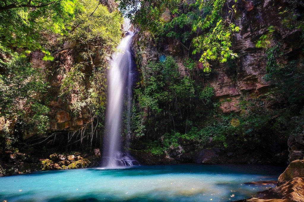 Rappel down Waterfall, Costa Rica, Blue Osa #CostaRica #BlueOsa
