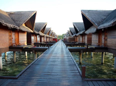 Maldives All Inclusive resorts has amazing over water bungalows.