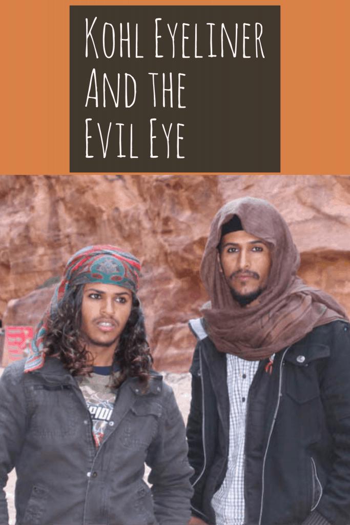 Khol Eyeliner and the Evil Eye (عين الحسود), Kajal Eyeliner, Khols makeup, kohls makeup, kohl eyeliner