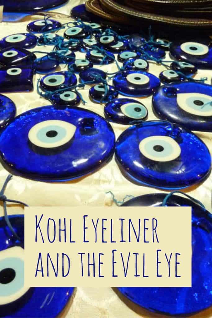 Khol Eyeliner and the Evil Eye (عين الحسود), Kajal Eyeliner, Khols makeup