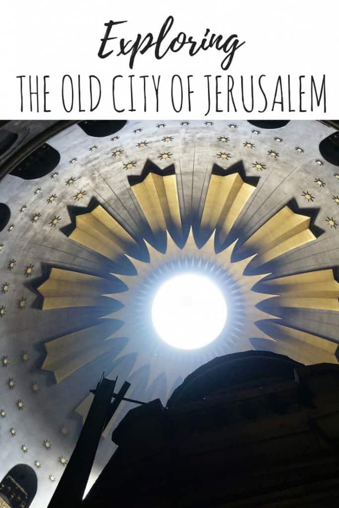 Old City Jerusalem, Jerusalem the old city