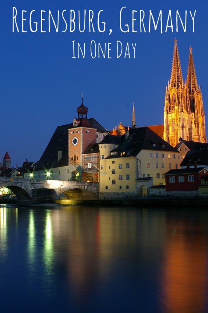 Regensburg is a pretty UNESCO city in the south of Germany, just an hour from Munich. #germany #regensburg #unesco #travel #munich