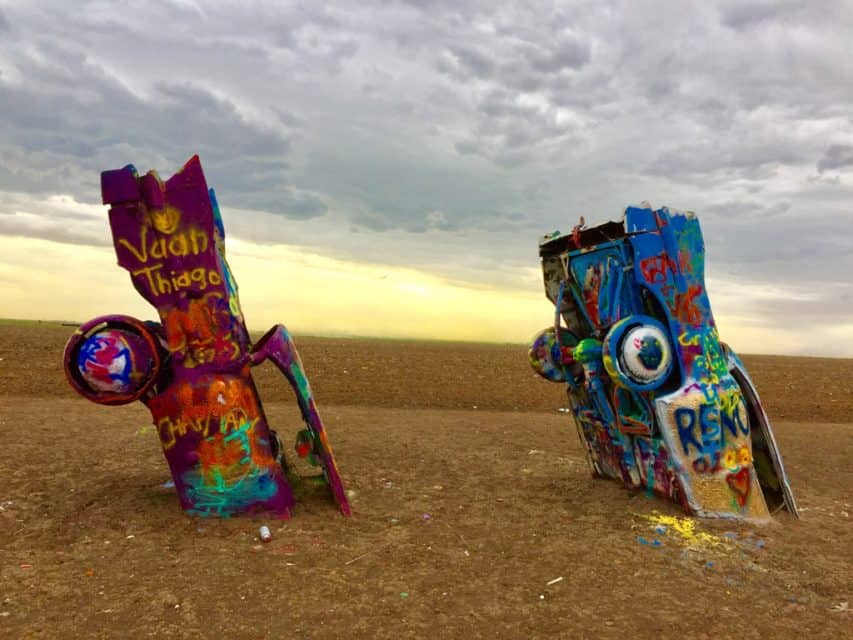 Amarillo, Texas, USA, Cadillac Ranch, Travel Photo