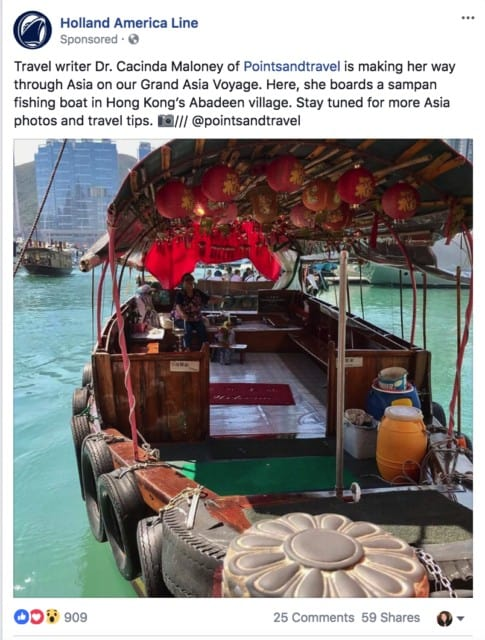Hong Kong Boat: 3 Port Cities in Southeast Asia Not to Miss, MS Westerdam ship, Holland America
