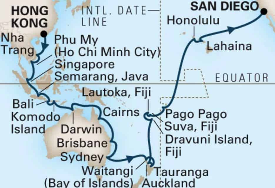 Asia Cruise: 3 Port Cities in Southeast Asia Not to Miss, MS Westerdam ship, Holland America