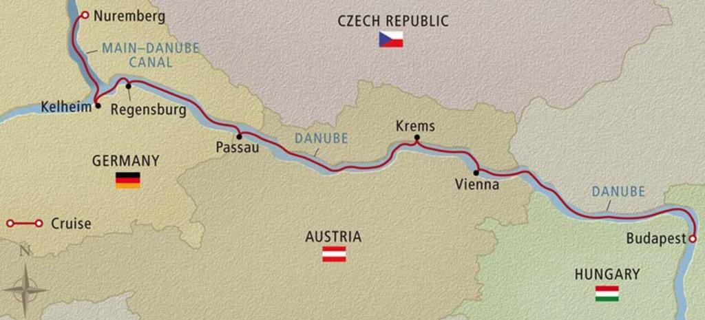 Romantic Danube, Viking River Cruises, Travel photos
