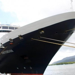 cruise Holland America on a global cruise.