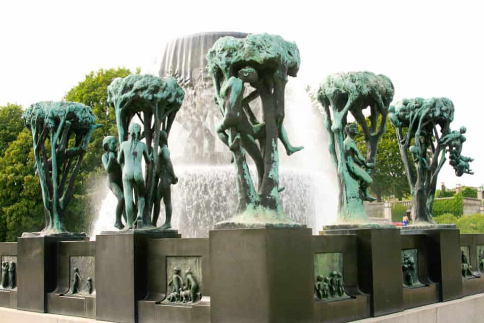Vigeland Park, Oslo, Norway, Things to do in Norway, Norway winter