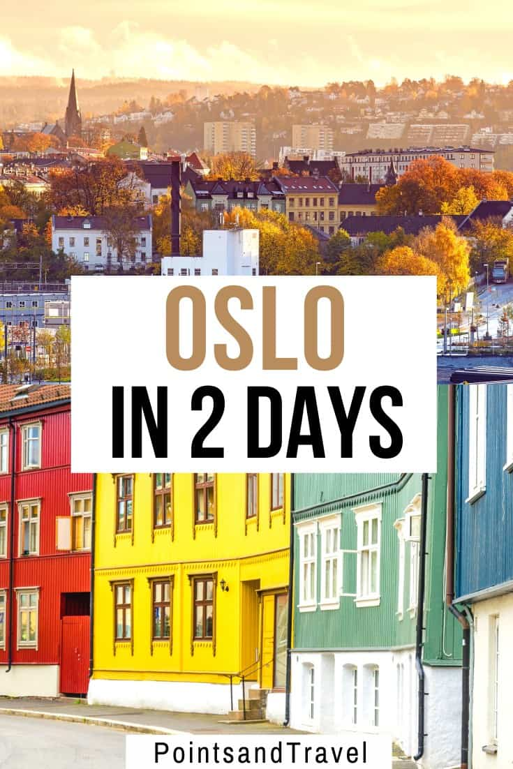 Traveling to Oslo? Here is the best Oslo 2 Day Itinerary. How to spend . 48 hours in Oslo and enjoy everything the city has to offer. This Oslo travel guide will highlight all the sights and attractions that you cannot miss in Oslo. | best things to do in Oslo | what to do in Oslo | Oslo Itinerary | Oslo in 1 day | Oslo in 2 days | Oslo weekend | weekend in Oslo | Oslo hidden gems | Oslo travel guide | #oslo #norway