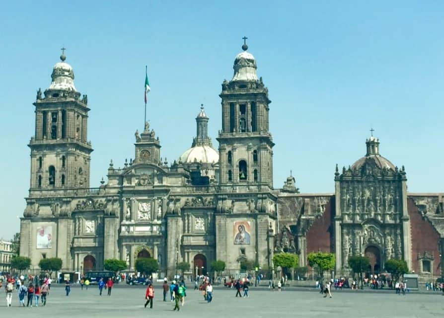 Mexico City, Mexico, One of many Popular Mexican Destinations