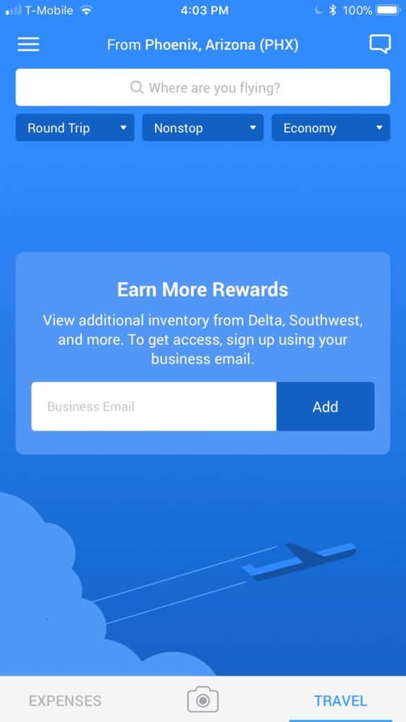TravelBank – App for Business Travelers