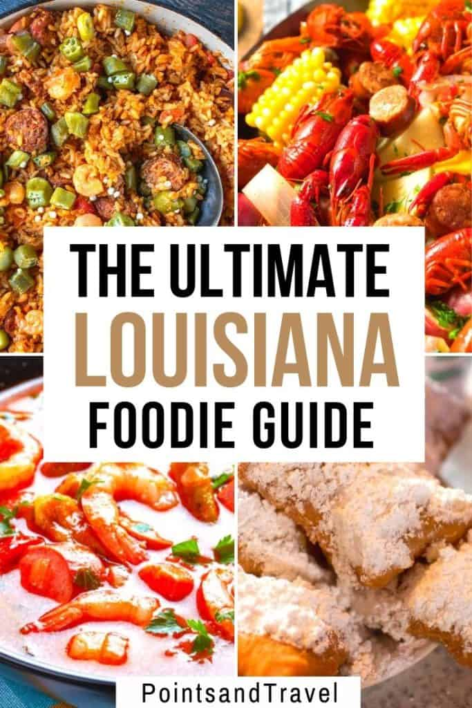 The Ultimate Louisiana Foodie Guide: the best food in New Orleans, Lafayette and more. Here are the 15 best dishes you absolutely need to try in Louisiana. Gumbo, shrimp etouffee, jambalaya and so many more delicious dishes you can't miss when you visit the beautiful state of Louisiana #louisianafood #neworleansfood #neworleans #louisiana   Best food in Louisiana   Louisiana Dishes   What to eat in Louisiana   What to eat in New Orleans   New Orleans Food   #Louisiana #Food #Foodie