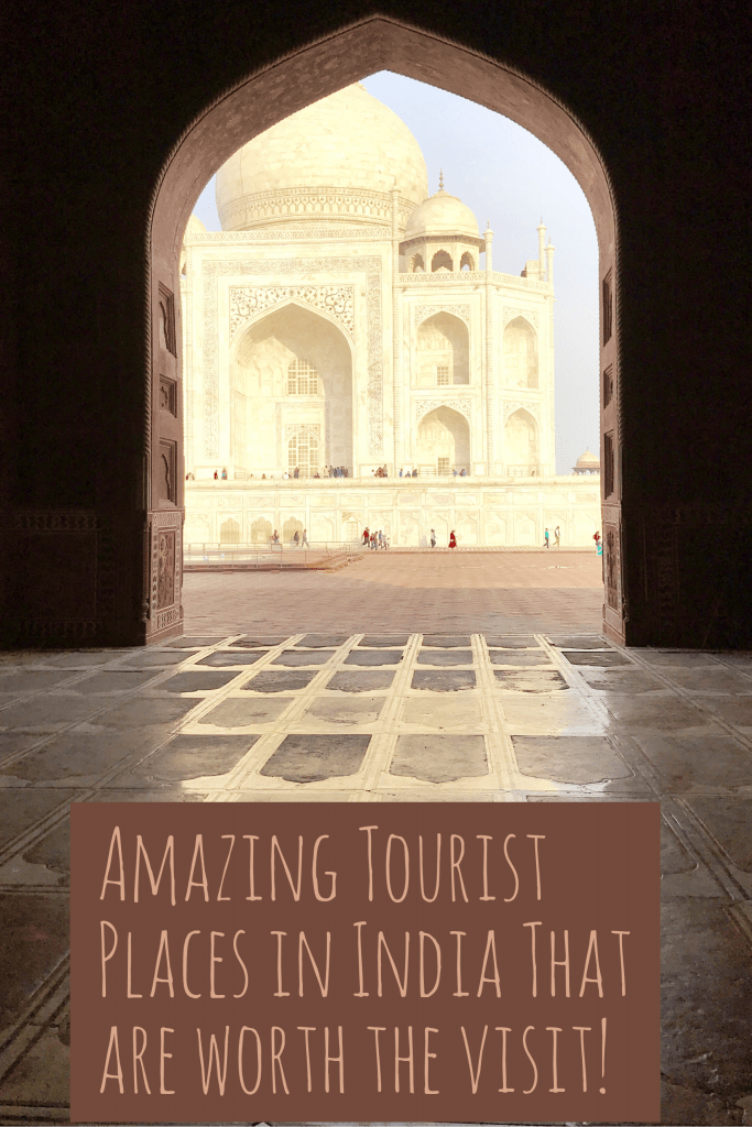 Taj Mahal, Tourist places in India, Tourist places in North India, Famous places in India, Tourist spots in India