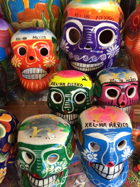 Colorful Mexican masks