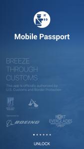 Mobile Passport App, MyTrip App