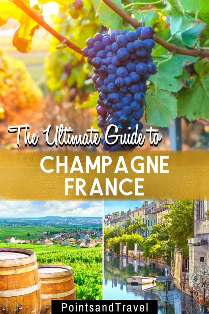 Traveling to France? Don't miss a day trip to the Champagne region to visit the incredible vineyards and wine caves. This Champagne travel guide will show you the best things to do in Champagne, the best vineyards to visit and the best Champagne houses in France. | Paris Day Trip | France Wine Regions | What to do in Champagne France | Champagne Itinerary | Champagne Day Trip | Champagne Tour | #champagne #france #paris