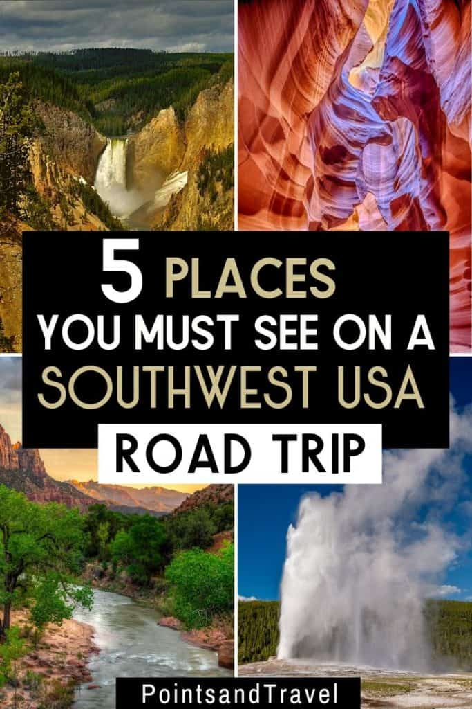 5 Places You Must See on a Southwest USA Roadtrip, American Attractions to see on your next USA Roadtrip, How to plan the best road trip in Southwest USA, #Southwest #Roadtrip #AmericanAttractions