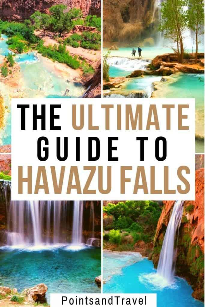 The ultimate guide to Havazu Falls, Havasu Falls, Havasu Falls Hike, Havasupai, Havasu Creek, HavasupaiFalls permit, Havasupai reservations, #Havasupai #HavazuFalls #Arizona