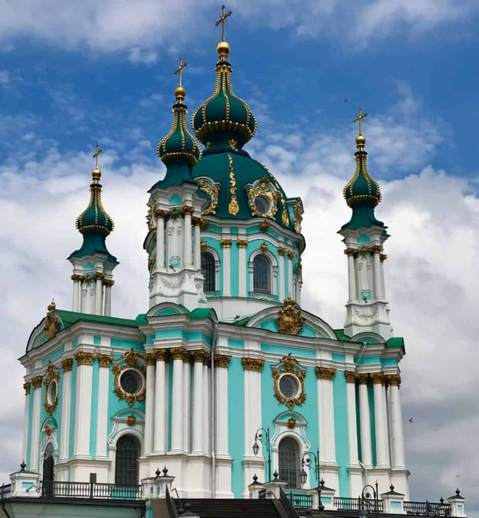 St. Andrews Church, Kiev Ukraine