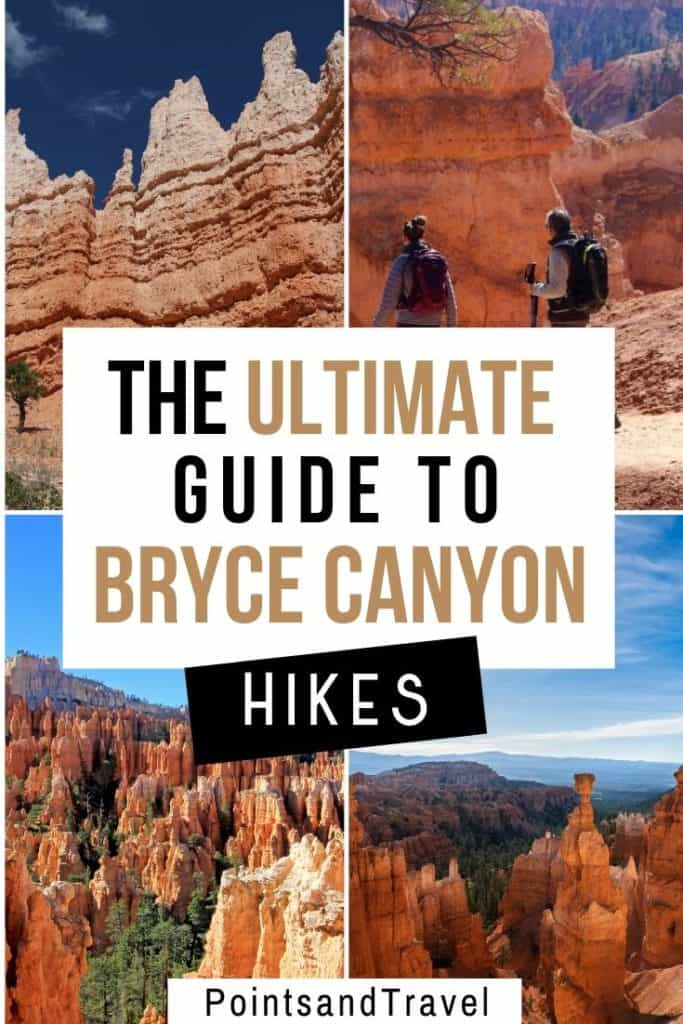 The Ultimate Guide to Bryce Canyon Hikes, Bryce Canyon Hikes, Bryce Canyon Trails, Bryce Canyon Elevation, #BryceCanyon #BryceCanyonTrails #USA