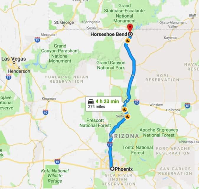 horseshoe bend hike, horseshoe bend grand canyon, horseshoe grand canyon, horseshoe bend Arizona, horseshoe bend