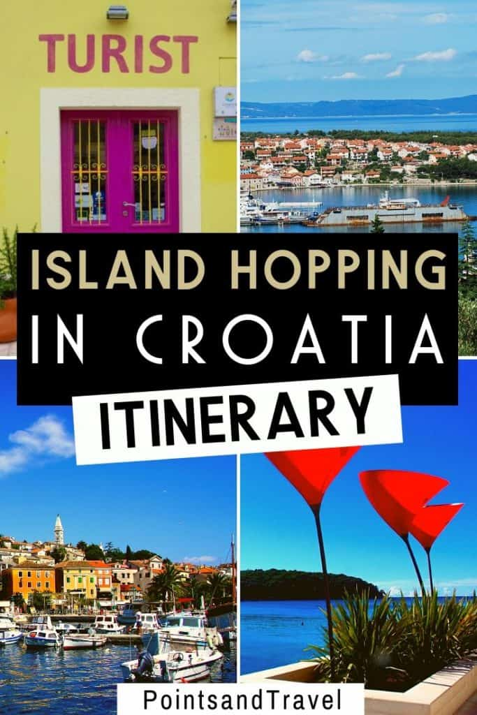 How to go Island Hopping in Croatia, Island Hopping in Croatia, Island Hopping Itinerary, #Croatia #Islandhopping #Beach