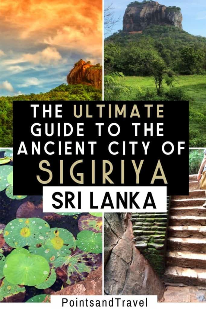 The ultimate guide to the ancient city of Sigiriya Sri Lanka, Everything you need to know before visiting Sigiriya Sri Lanka, #SriLanka #Sigiriya #AncientCity