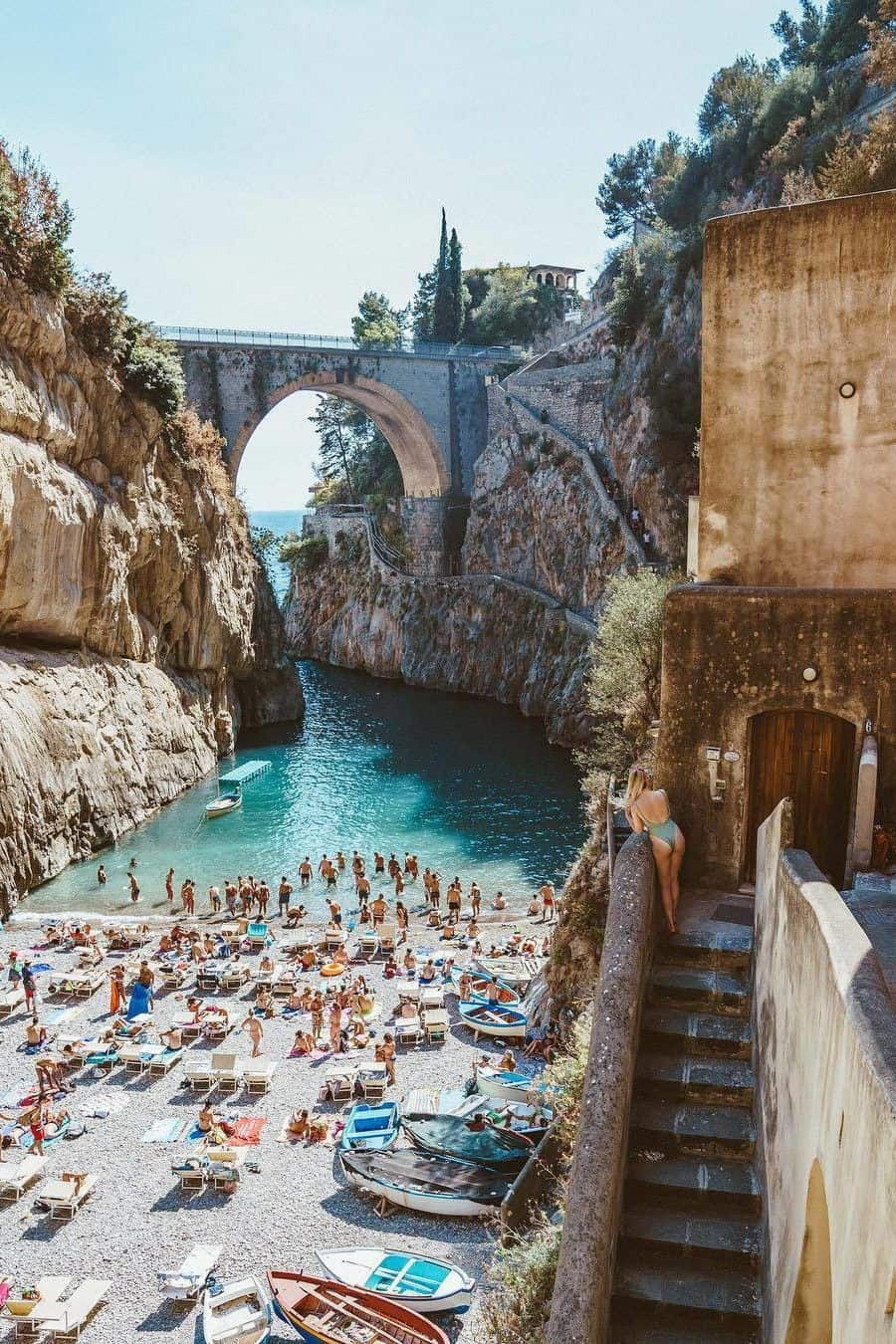 Things to see in Furore Italy, the most beautiful beach in the world, #Furore #Italy