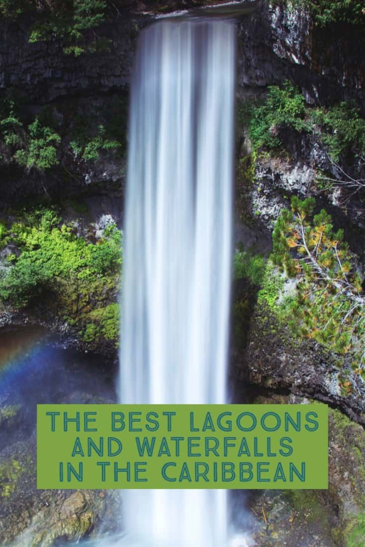 Caribbean Waterfalls, Waterfall of the Caribbean, Lagoons and waterfalls of the Caribbean, #CaribbeanWaterfalls