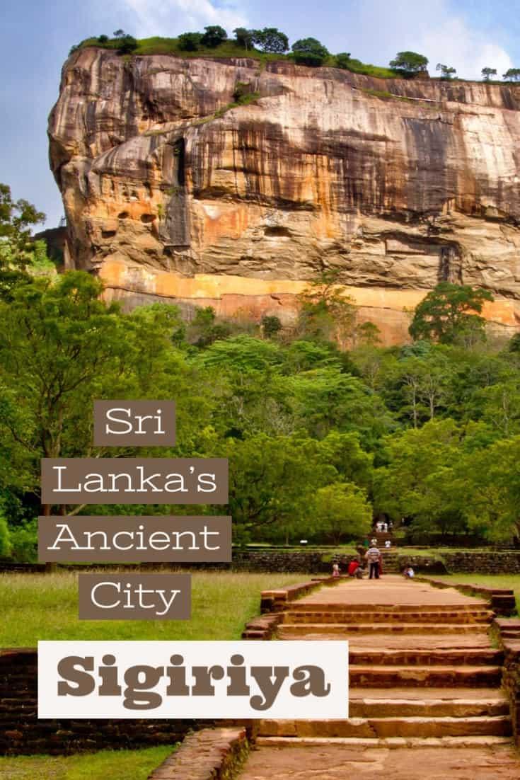 Sri Lanka's ancient city of Sigiriya
