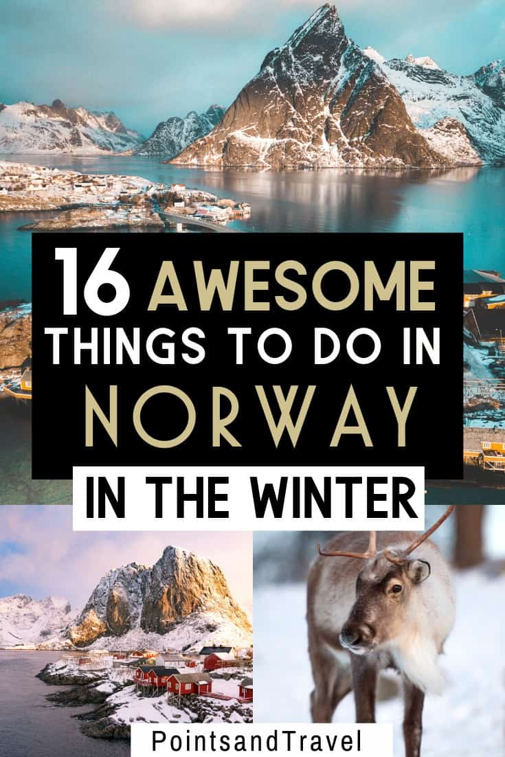 Visiting Norway in winter is an amazing experience: see the Northern Lights, fjords, and more. Here are 16 amazing things to do during Winter in Norway.   Norway winter itinerary   Winter in Norway   What to do in Norway during Winter   Norway Winter Guide   #norway #wintertravel