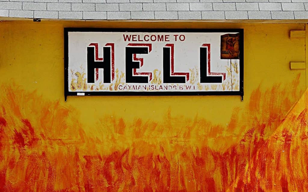 Hell Grand Cayman: Is it a Journey to Hell & Back?