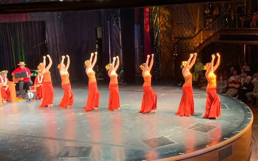 Polynesian dancing, South Pacific Cruise, South Pacific Island Cruise, Pacific Cruises, Maasdam Review