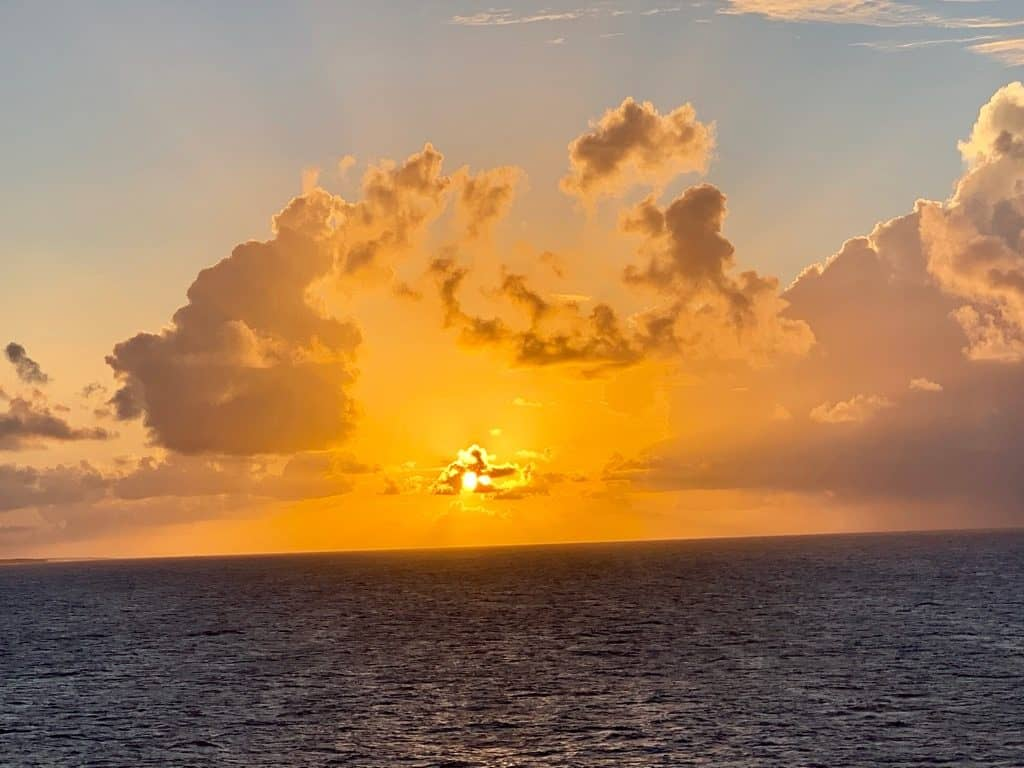 Sunset, South Pacific Cruise, South Pacific Island Cruise, Pacific Cruises