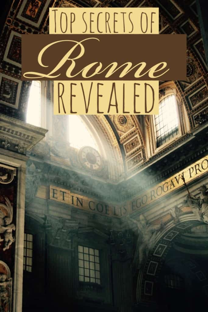 Time in Rome, Italy, secrets of Rome, Italy, Rome secrets revealed,Time in Rome