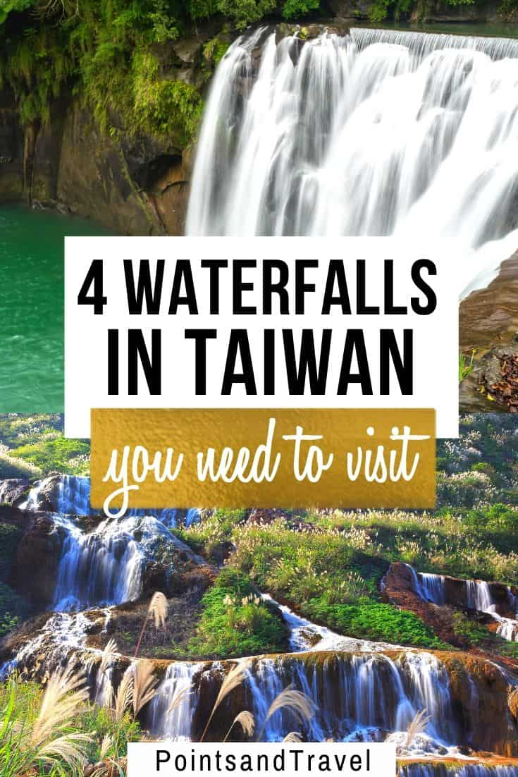 4 waterfalls in Taiwan that you need to visit, 4 pretty waterfalls in Taiwan you didn't know existed, Taiwan secret waterfalls you can't miss, #Taiwan #Waterfalls