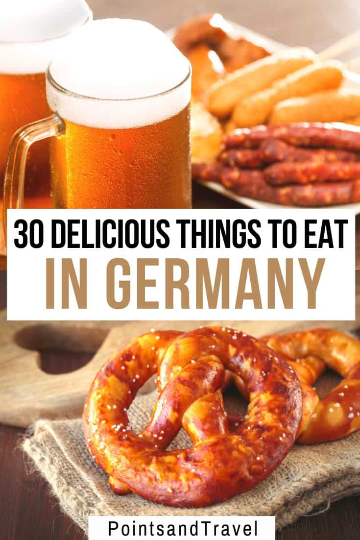The Ultimate Germany Food Guide: the best foods to eat in Germany. German food is hearty and delicious. And not only beer, pretzels and bratwurst! This is your ultimate guide to German food. What to eat in Germany! #germany #germanfood   What to eat in Germany   German food list   The Best Things to Eat in Germany  