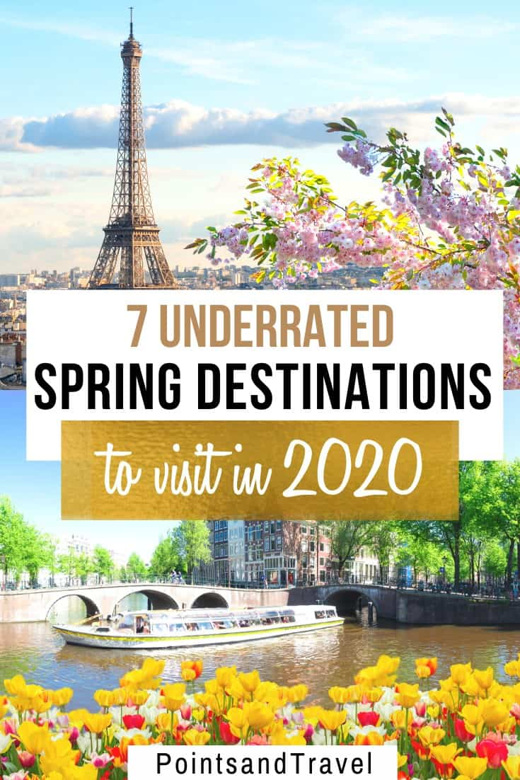 7 Underrated Spring Destinations to Visit in 2020. The Ultimate Spring Bucket List. These are the most gorgeous spring spots to see flowers in bloom.   Spring travel   Spring destinations   What to do in Spring   Where to go in Spring   Spring Destinations   Most Beautiful Spring Destinations   Where to travel this Spring  
