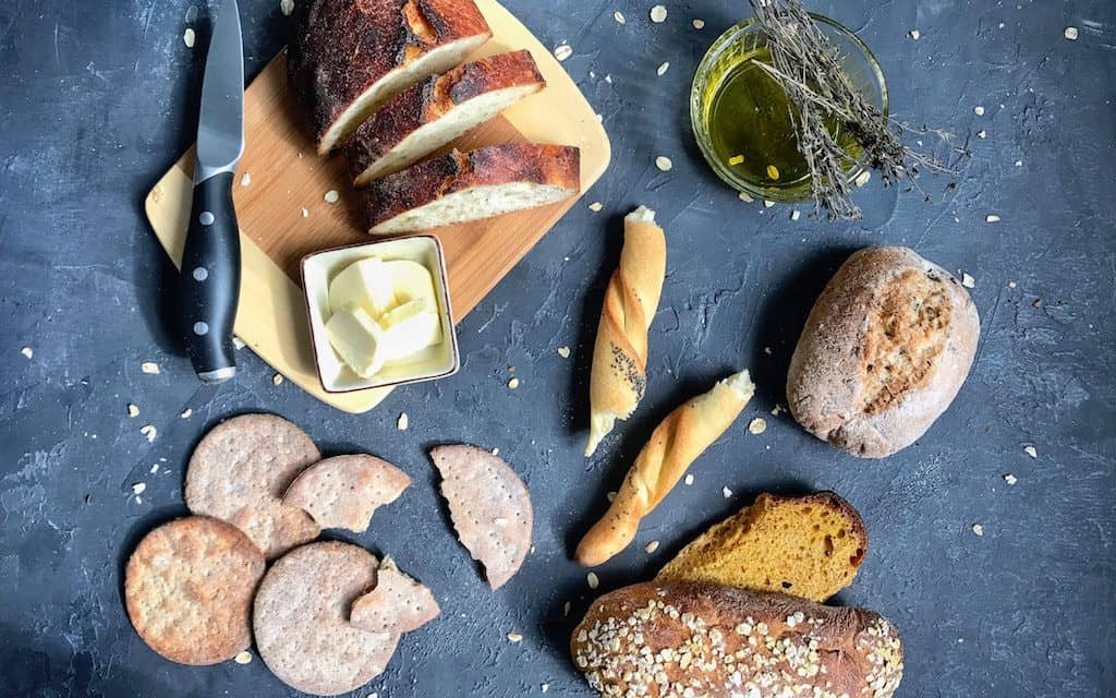 A variety of Greek breads, delicious greek bread, greek bread, #greek #greece #breads