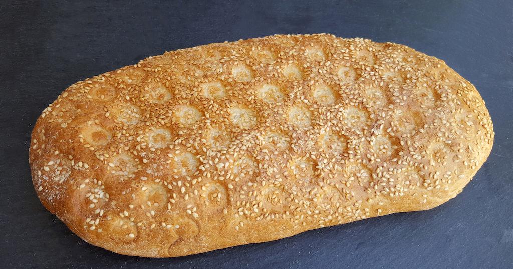 Traditional greek bread, lagana, #greece