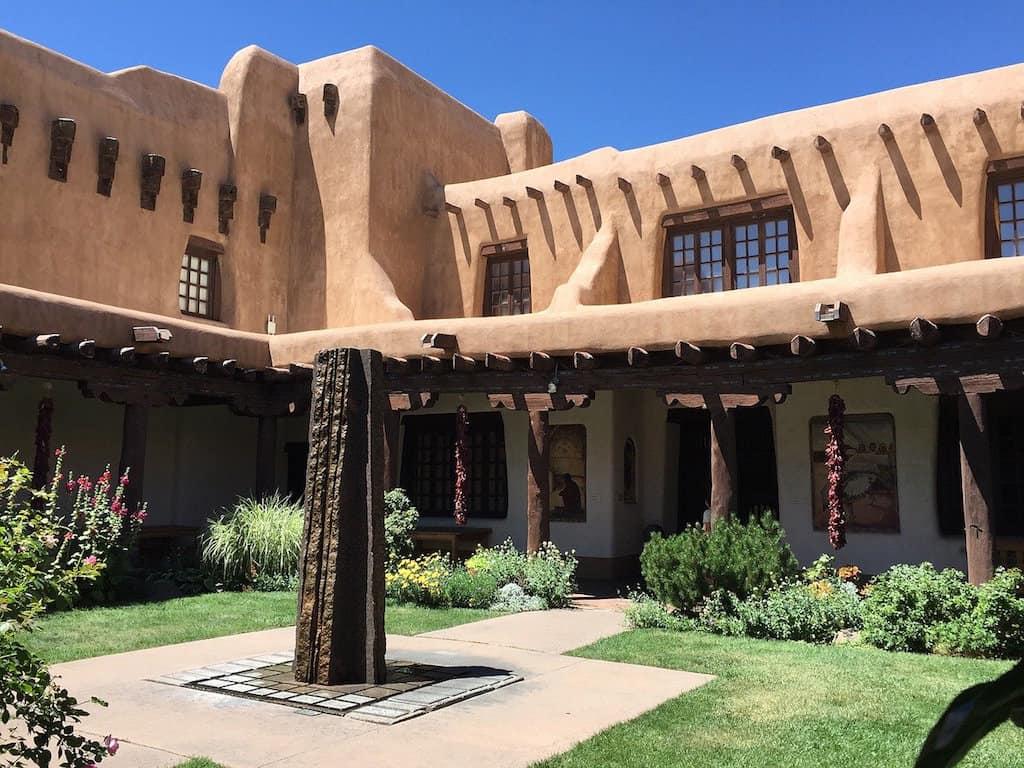 Santa Fe landscape, Santa Fe weather, Santa Fe New Mexico elevation, Population of Santa Fe NM, Santa Fe hotels near plaza, #SantFe #NewMex