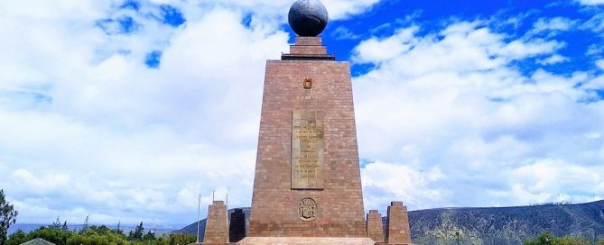 Ecuador, Middle of the World , Quito, Equator