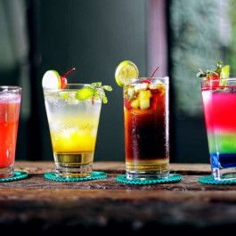 Mexican drinks, cocktail drinks in Mexico