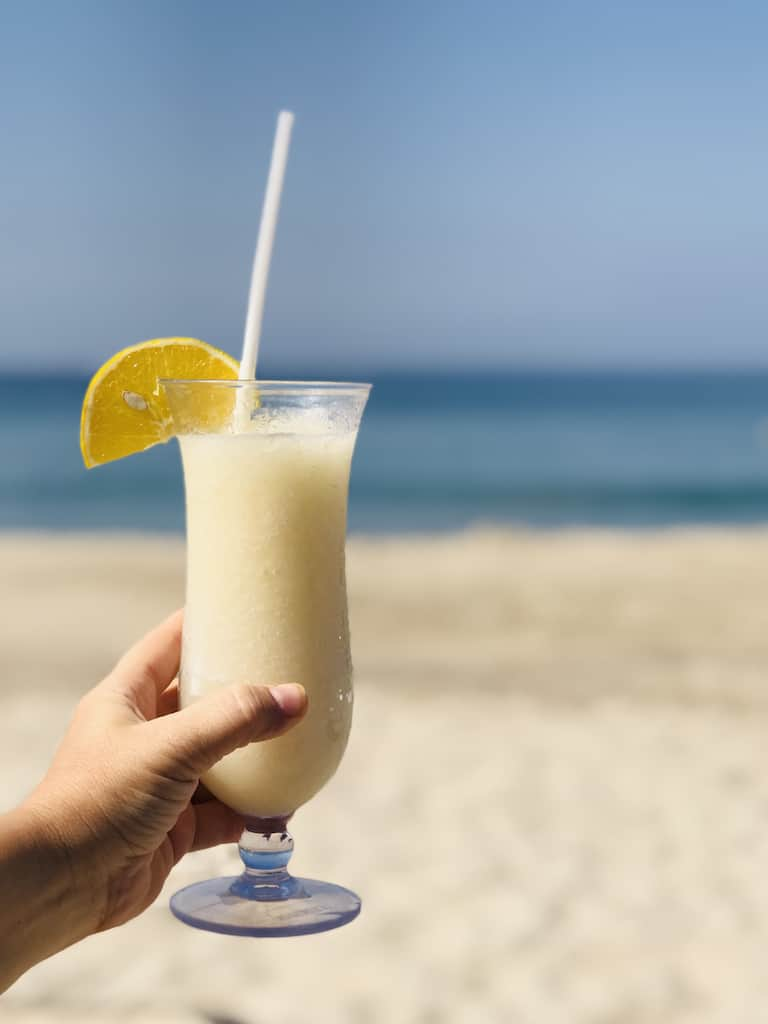 Horchata, drinks in Mexico